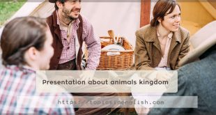 Presentation about animals kingdom